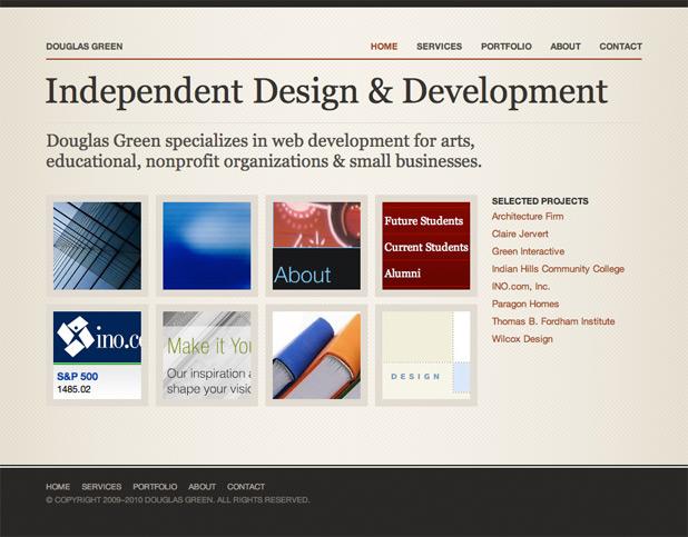 Douglas Green 2009 Design