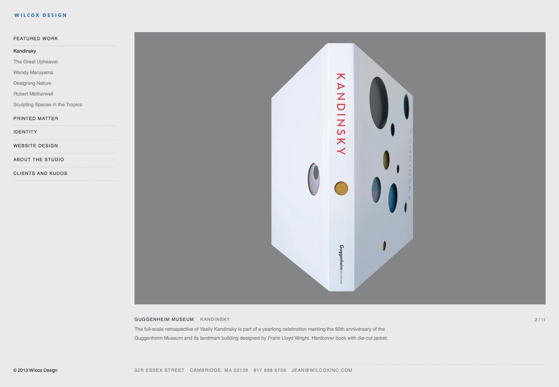 Wilcox Design portfolio