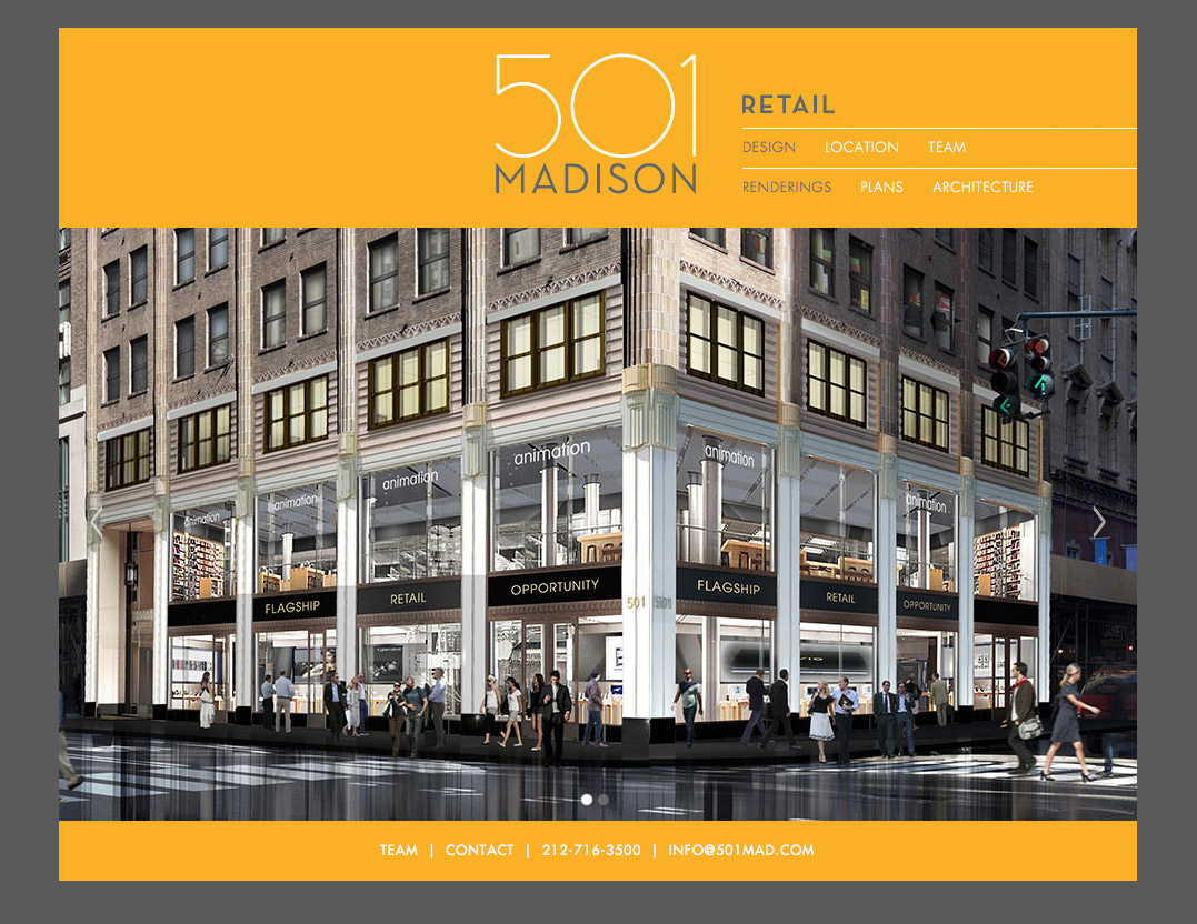 501 Madison website