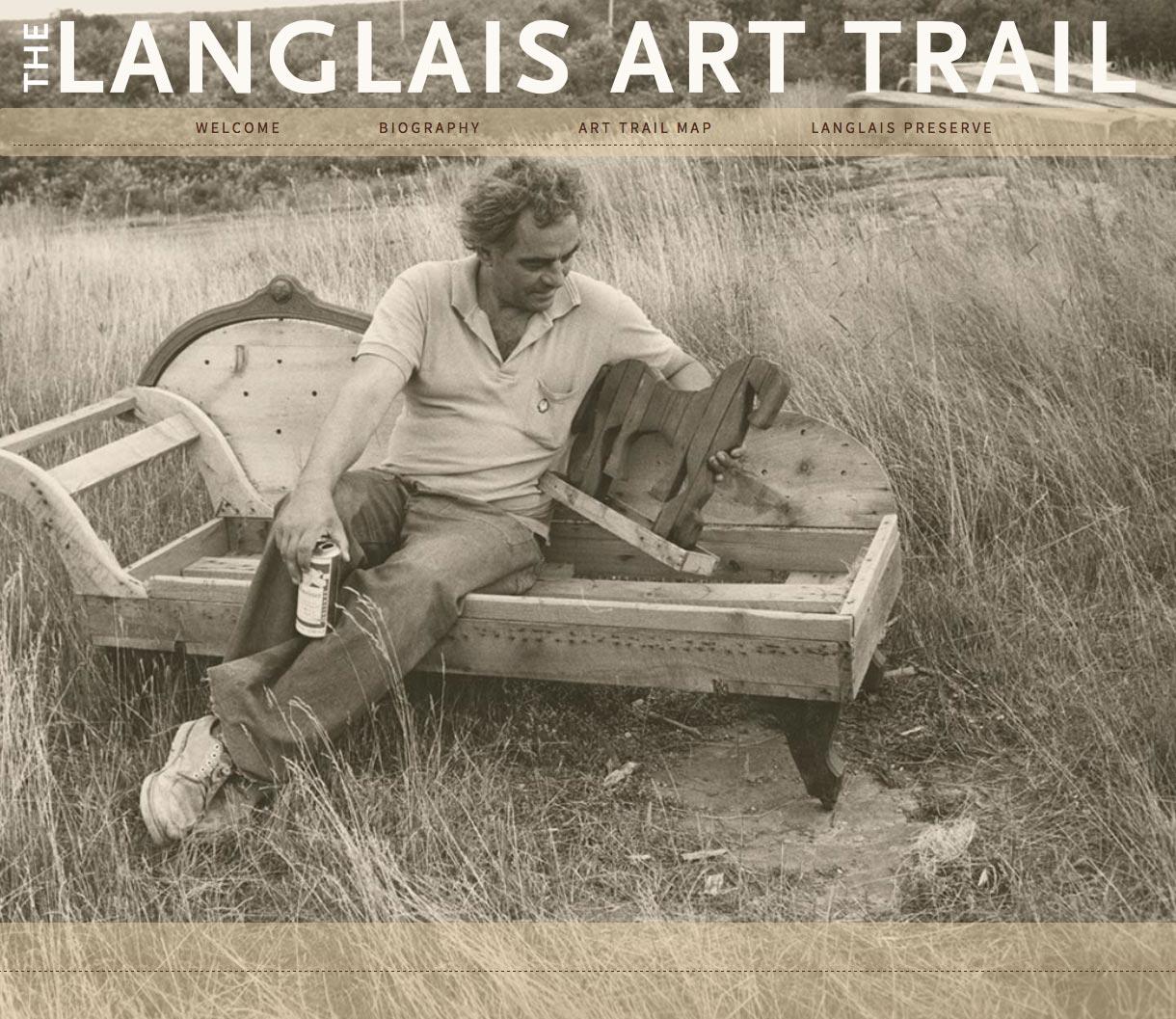 Langlais Art Trail home
