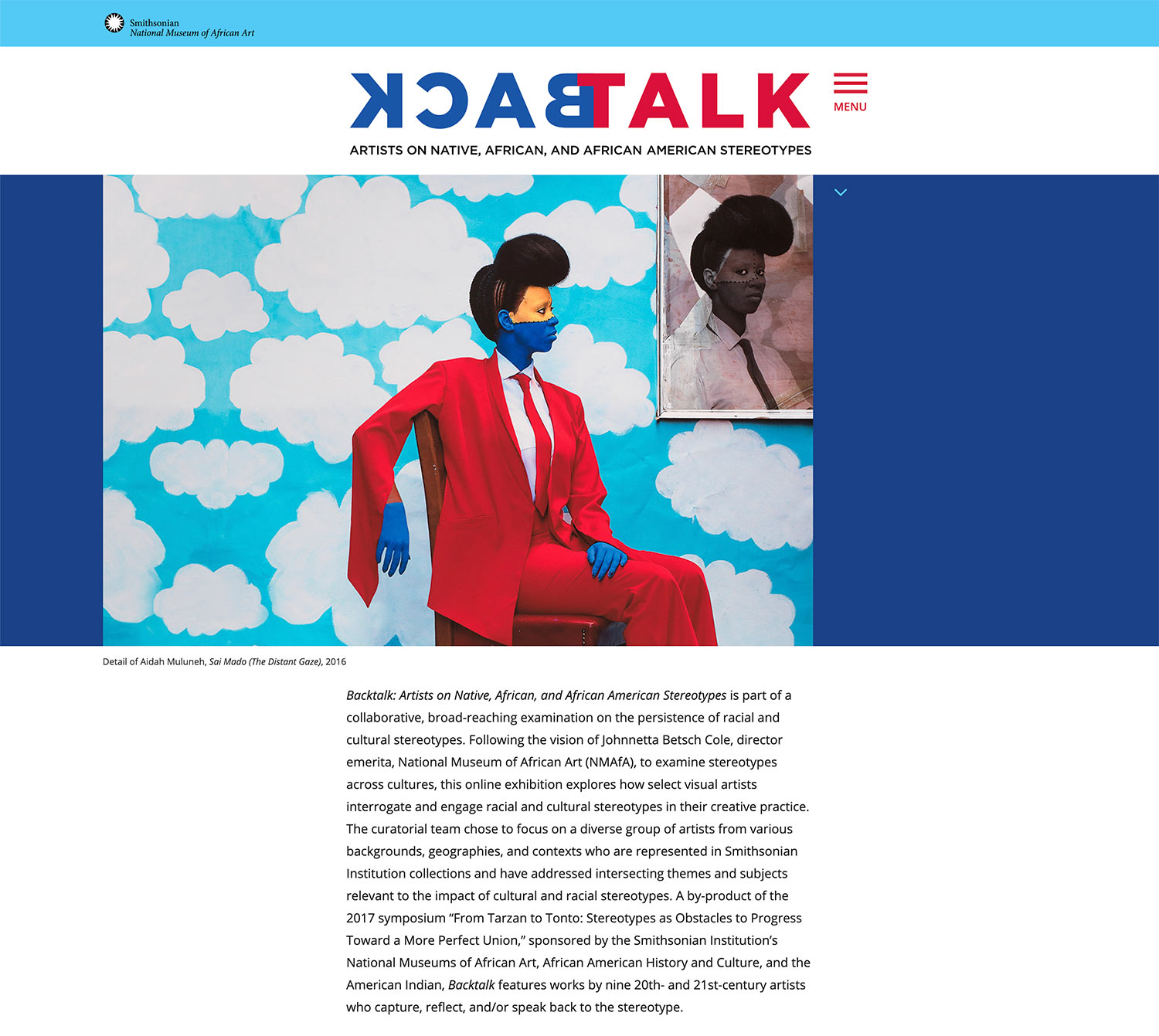 Backtalk homepage