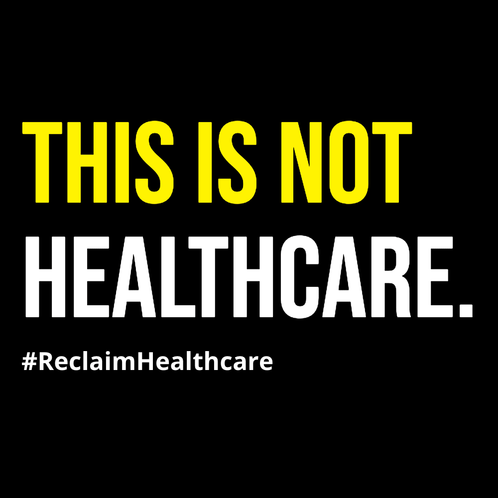 This Is Not Healthcare